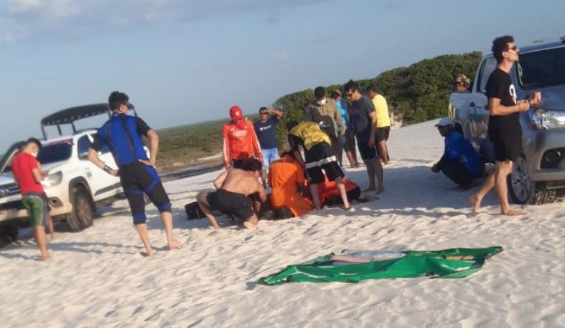Vídeo: Paraquedista morre nos Lencóis Maranhenses após tentar manobra