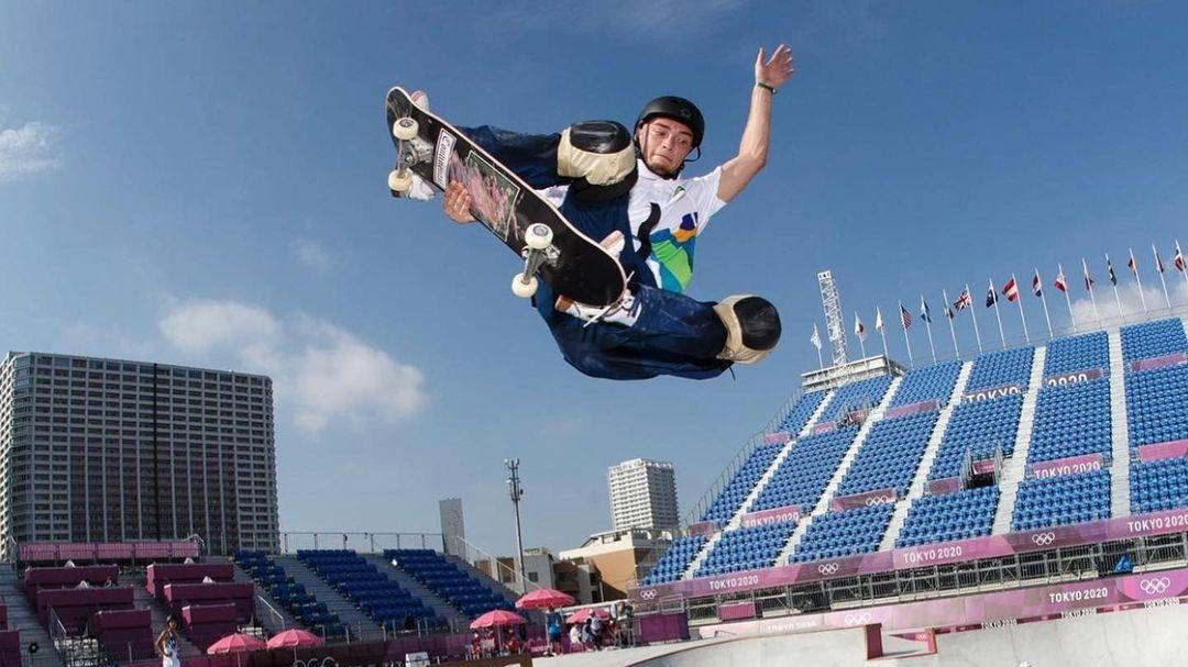 Três brasileiros dão show e avançam pra final do skate park da Olimpíada de Tóquio