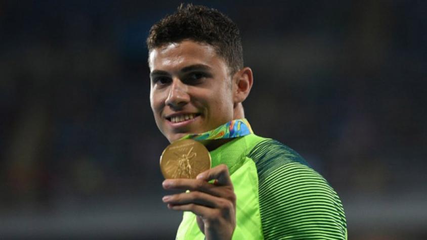 Em busca do bi olímpico, Thiago Braz recebe apoio da família: 'Traz o ouro que a avó gosta de ouro'