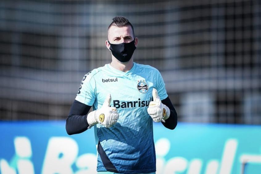 Grêmio e Paulo Victor antecipam fim do vínculo entre as partes