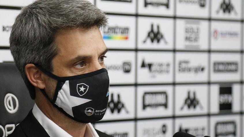 Freeland comemora momento do Botafogo, mas garante: 'Nosso local na tabela não é confortável'