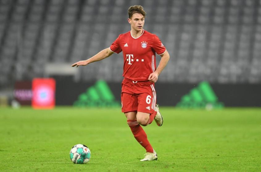 Bayern se aproxima de renovação com Kimmich até 2026
