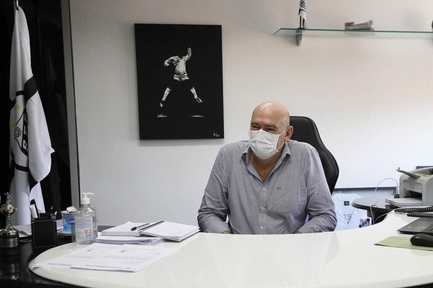 Após perder titulares, Rueda diz que o Santos precisa de reforços pontuais