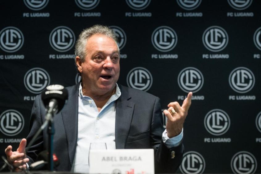 Abel Braga conquista primeira vitória oficial à frente do Lugano