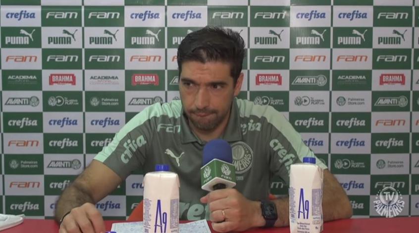Abel celebra chegada de Piquerez ao Palmeiras e projeta: 'Se entender que todos somos um, vai jogar'
