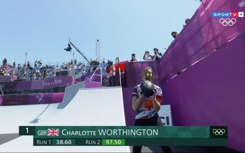 Ciclismo BMX: Logan Martin, no masculino, e Charlotte Worthington, no feminino, conquistam o ouro
