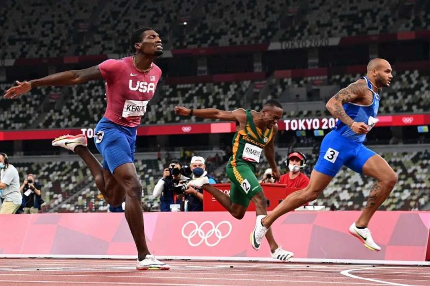 Italiano surpreende favoritos e vence final dos 100m rasos