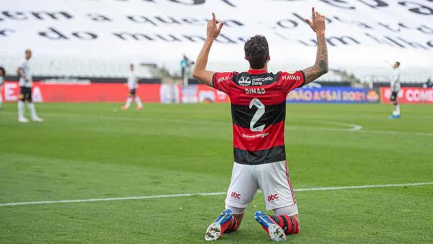 Gustavo Henrique destaca clima leve no Flamengo e elogia Renato: 'Ele nos traz confiança dia após dia'