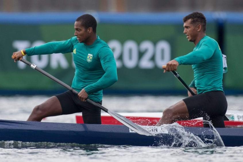 Canoagem velocidade: Isaquias Queiroz e Jacky Godmann avançam à final do C2 1000m masculino