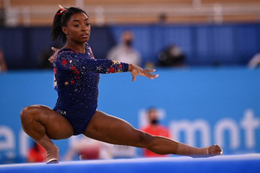 Simone Biles comemora pódios nos Jogos Olímpicos: 'Mais duas medalhas não é tão ruim'