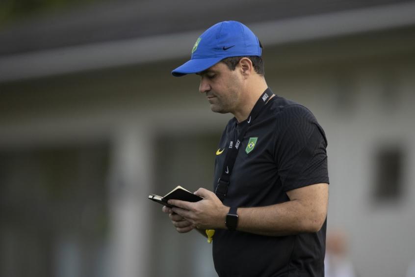 Seleção Brasileira encerra preparação para duelo contra o México pelos Jogos Olímpicos