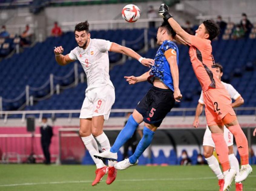 Espanha sofre, mas derrota o Japão e encara o Brasil na final da Olimpíada