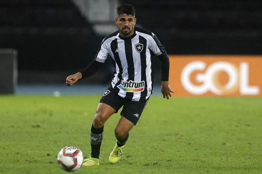 Daniel Borges define passagem no Botafogo como 'sonho' e garante: 'A tendência é melhorar'