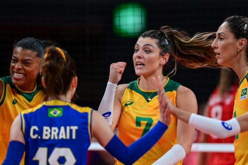 Semifinais do vôlei feminino nos Jogos Olímpicos de Tóquio: confira onde ver, confrontos e horários