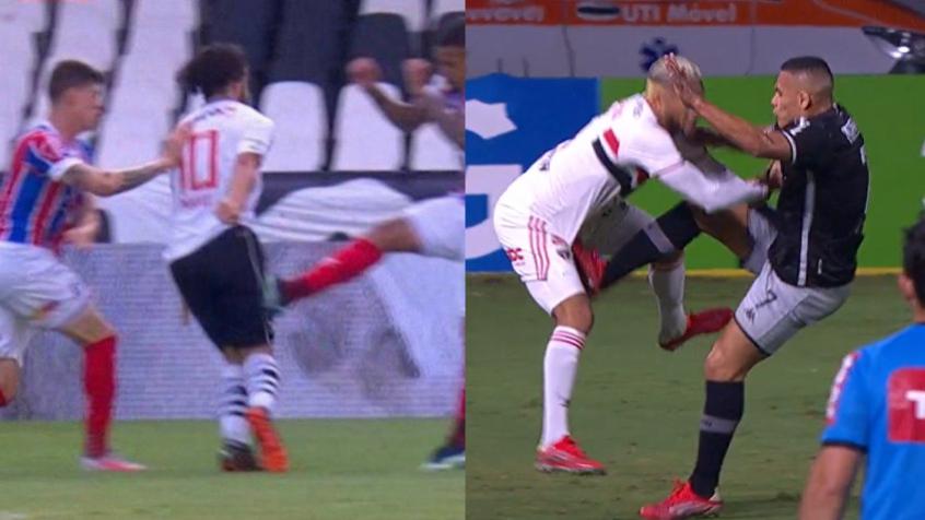 Em meio às polêmicas, torcedores do Vasco criticam arbitragem do jogo contra o São Paulo nas redes sociais