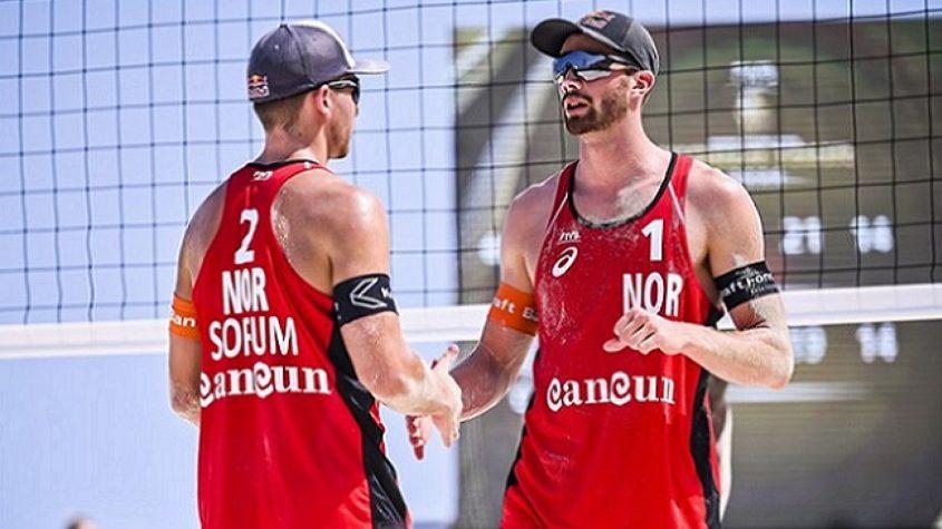 Dupla norueguesa do vôlei de praia conquista o ouro nos Jogos Olímpicos