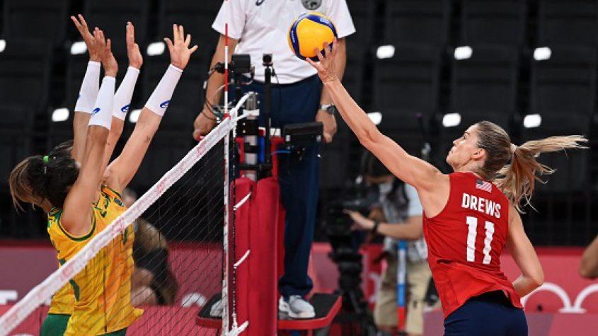 Seleção feminina de vôlei perde e fica com a prata nos Jogos Olímpicos
