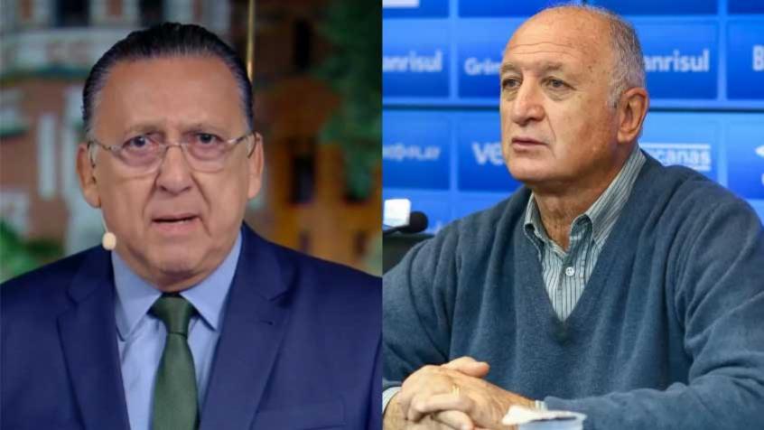 Galvão fala sobre 'rusga' com Felipão e adia aposentadoria: 'Não consigo me ver fora da Olimpíada'