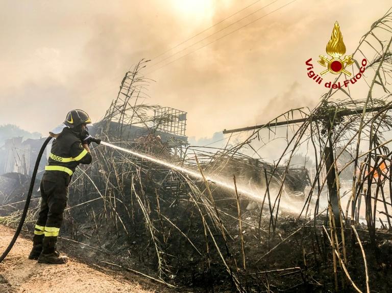 Mais de 70% dos incêndios na Itália foram provocados por humanos, diz ministro