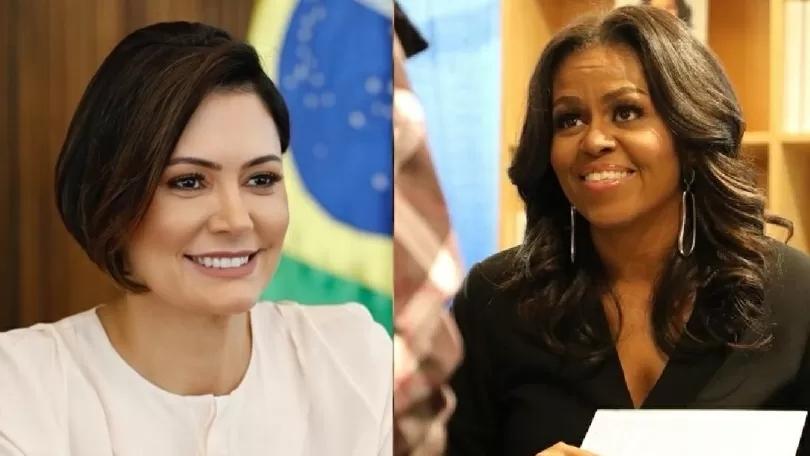 Vídeo: jornalista confunde primeira-dama do Brasil com Michele Obama