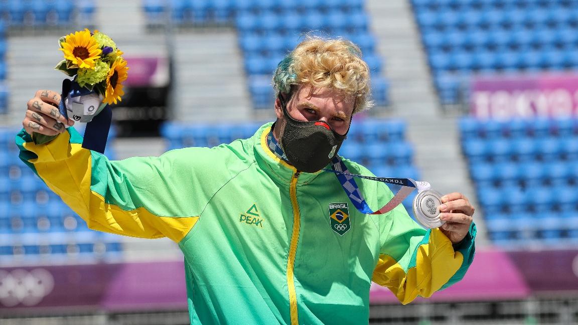 Terceira prata no skate e boxe nais finais: confira o resumo do Brasil no dia 12 da Olimpíada