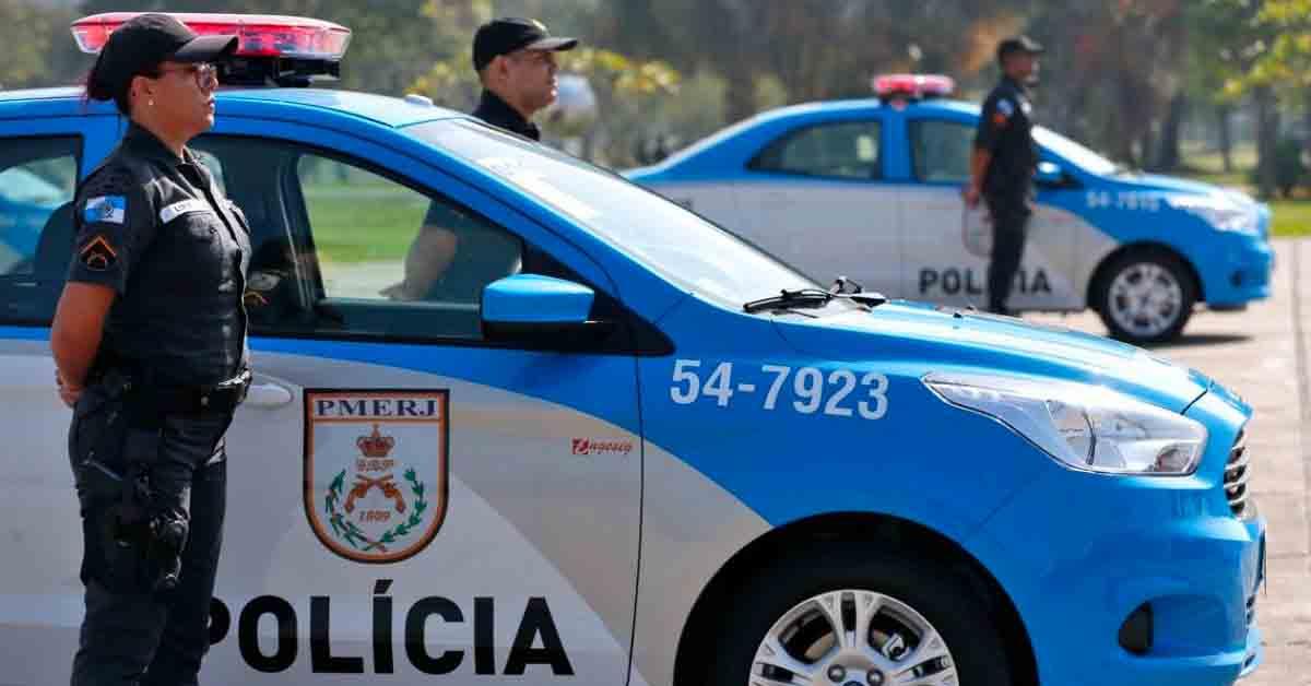 Covid matou mais policiais do que violência no Rio de Janeiro