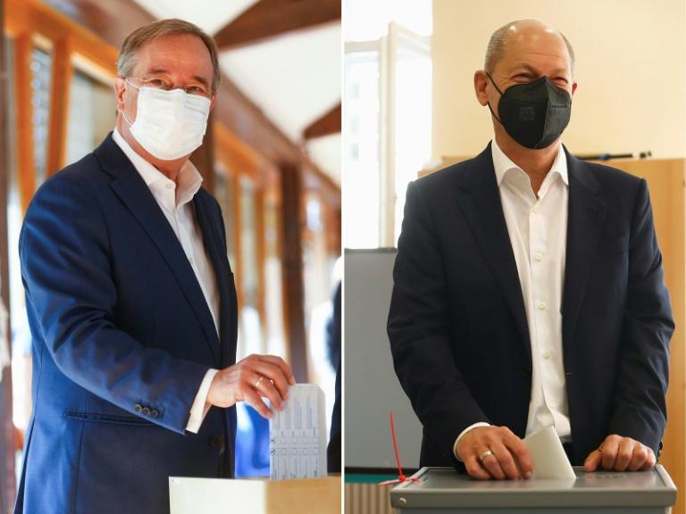 Social-democratas lideram por estreita margem legislativas alemãs