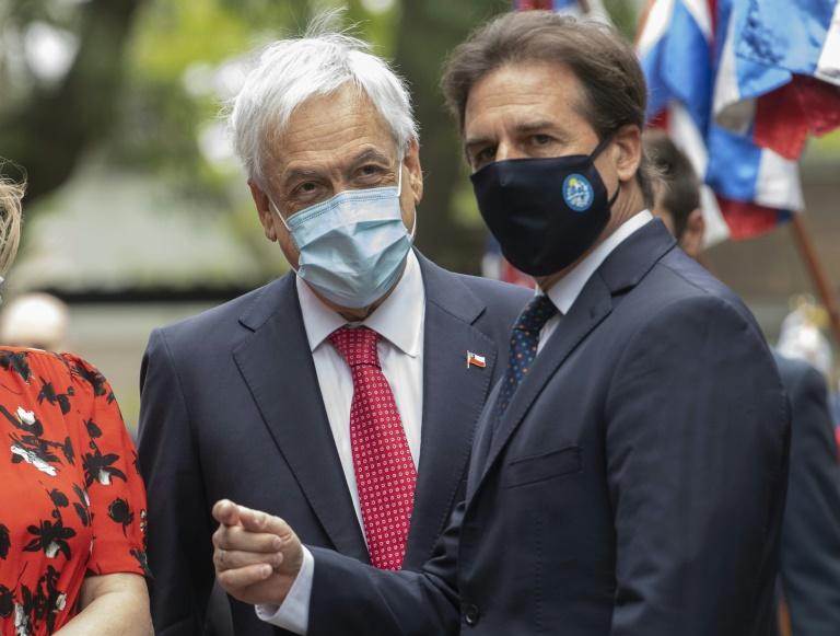 Presidente do Chile visita Uruguai com pandemia na pauta