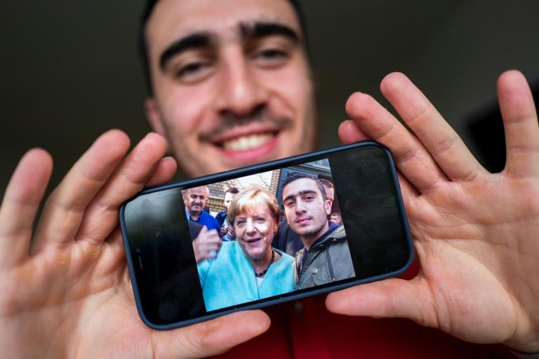 Três vidas transformadas por Merkel