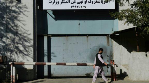 Talibã substitui ministério dos Assuntos Femininos pelo de Prevenção do Vício