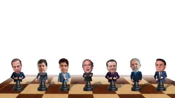 O jogo para a próxima eleição já começou e os partidos montam as suas estratégias eleitorais