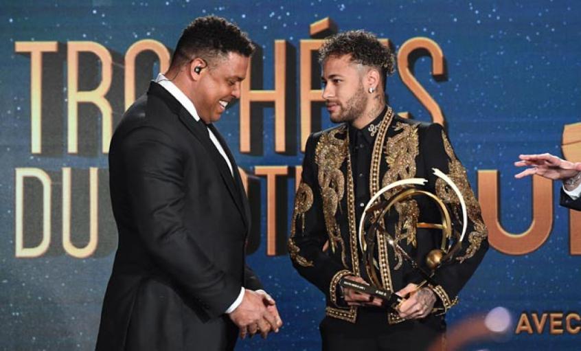 De craque a craque! Neymar homenageia Ronaldo Fenômeno pelo aniversário de 45 anos