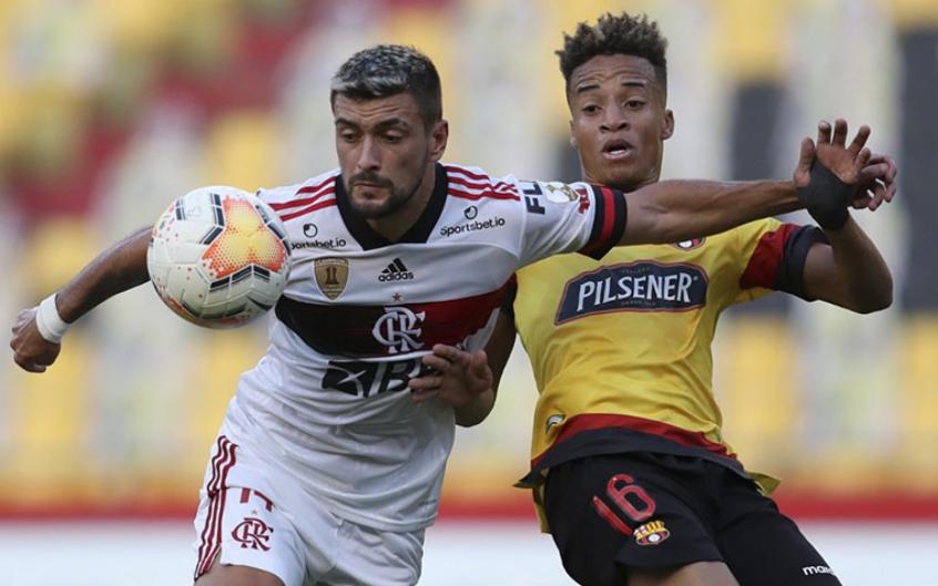 Libertadores: arbitragem está definida para primeira semifinal entre Flamengo e Barcelona (EQU)