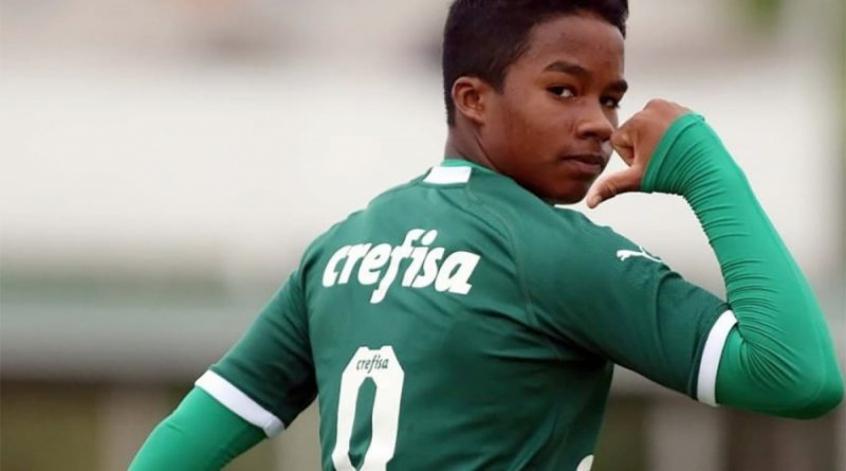 Endrick brilha e Palmeiras goleia Flamengo-SP pelo Paulista Sub-20