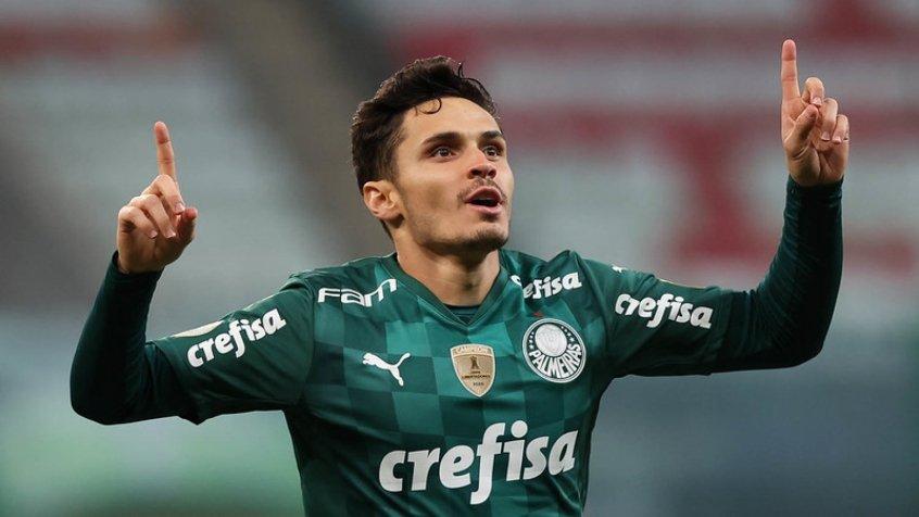 Raphael Veiga projeta decisão com Atlético-MG e destaca: 'Estamos muito motivados'