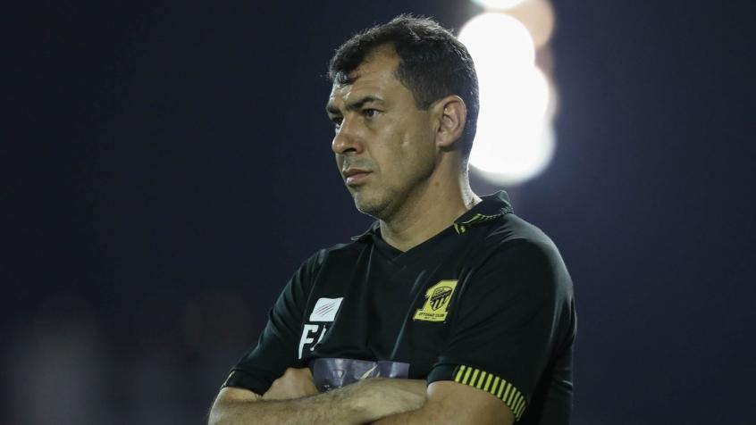 Santos anuncia a contratação do técnico Fábio Carille, ex-Corinthians