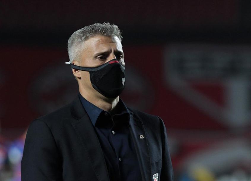 Crespo coloca vaga na Libertadores como meta do São Paulo no Brasileiro