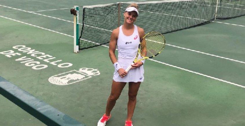 Laura Pigossi fura quali de torneio na França