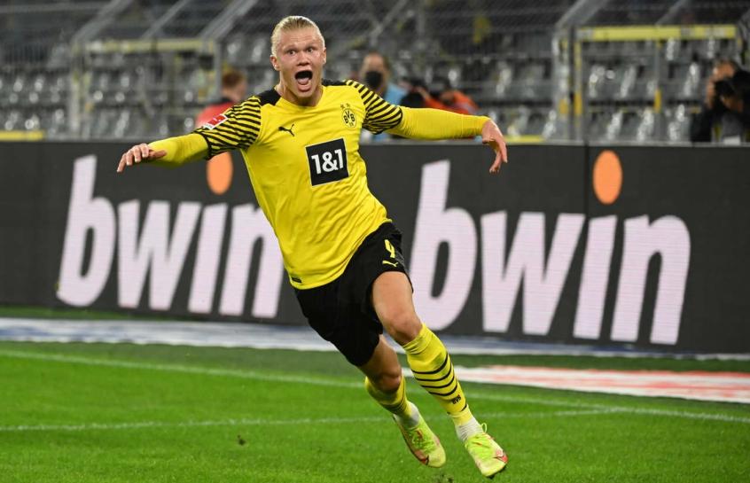 Borussia Dortmund admite saída de Haaland e já busca substituto