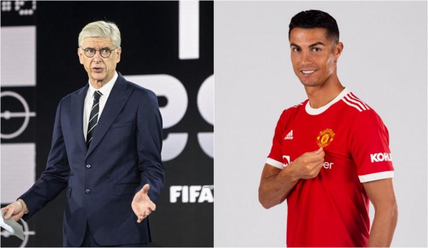 Arsène Wenger diz que Cristiano Ronaldo não foi racional ao voltar pro United