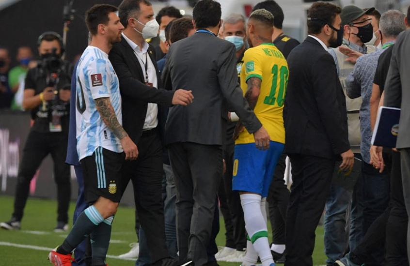 Nas mãos da Fifa: CBF envia defesa sobre jogo suspenso entre Brasil x Argentina