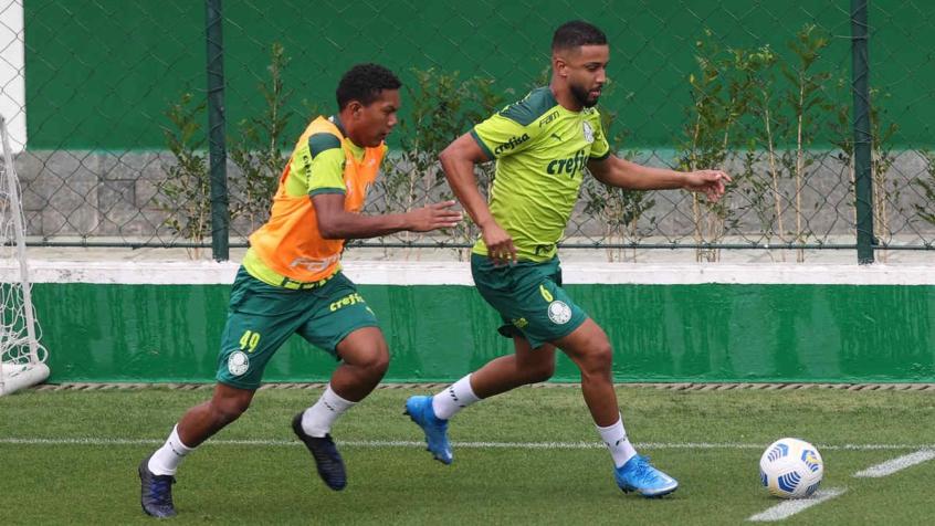 Escalação do Palmeiras: Verdão realiza treino tático visando o Corinthians