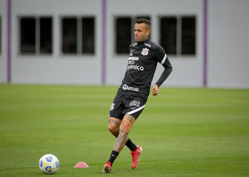 Adson e Luan seguem em tratamento e não treinam com o elenco do Corinthians
