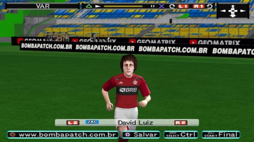 Bomba Patch atualiza elenco do Flamengo com David Luiz e debocha do FIFA 22: 'Amadores'