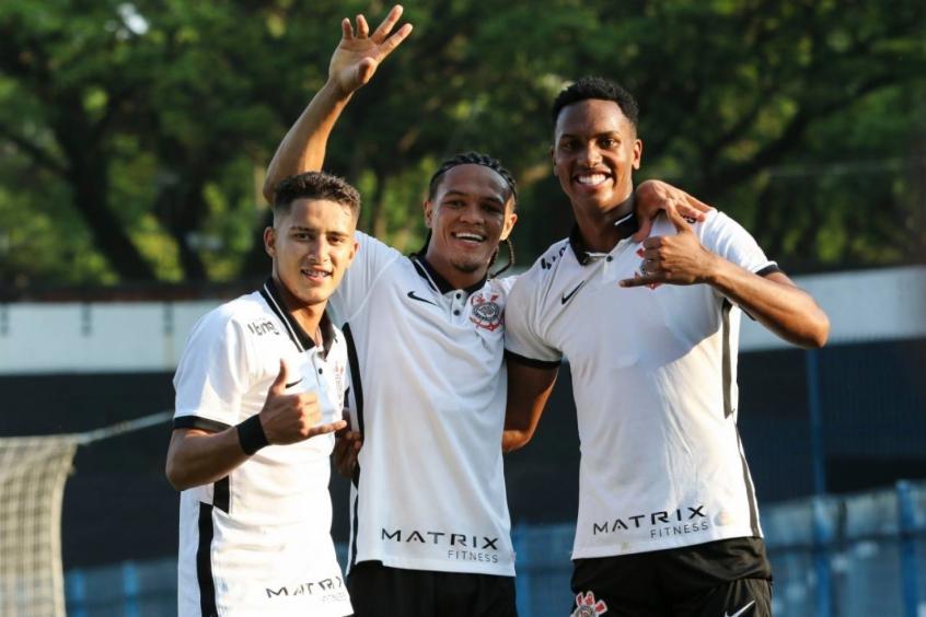 Corinthians leva a melhor diante do Santos pelo Campeonato Brasileiro Sub-20