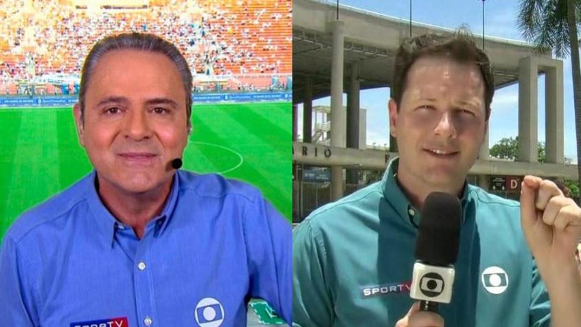 Vídeo: Luís Roberto comete gafe e não percebe anulação de gol do Vasco