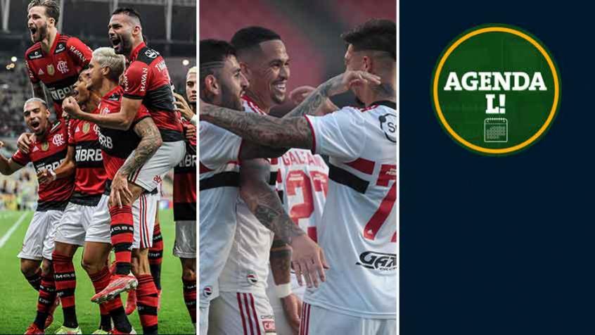 Libertadores, Brasileirão, futebol europeu… Veja onde assistir aos eventos esportivos desta quarta-feira