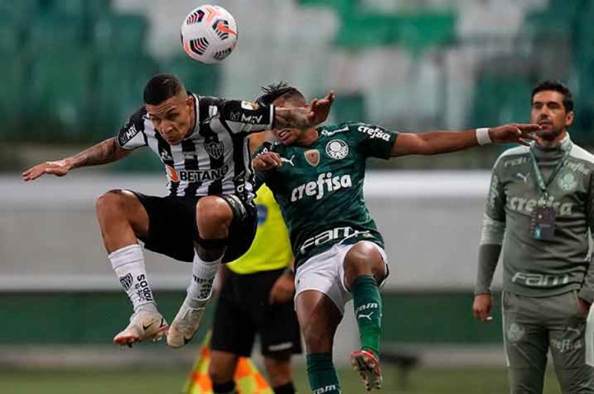 Hulk perde pênalti, e Palmeiras e Atlético-MG empatam no 1º jogo da semifinal da Libertadores