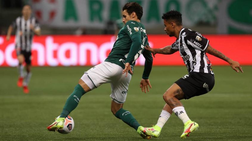 Raphael Veiga diz que gostaria de jogar com torcida no Allianz Parque: 'A gente tem saudade'