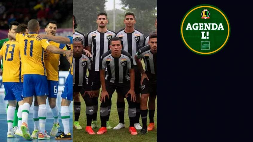 Brasil no Mundial de futsal, Série B, futebol europeu… Saiba onde assistir aos eventos esportivos de quinta-feira